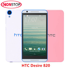 "Original HTC Desire 820 Mobile Phone 5.5"" Octa Core 2GB RAM 16GB ROM Camera 13.0MP Android 4.4 Unlocked 3G 4G LTE Refurbished"