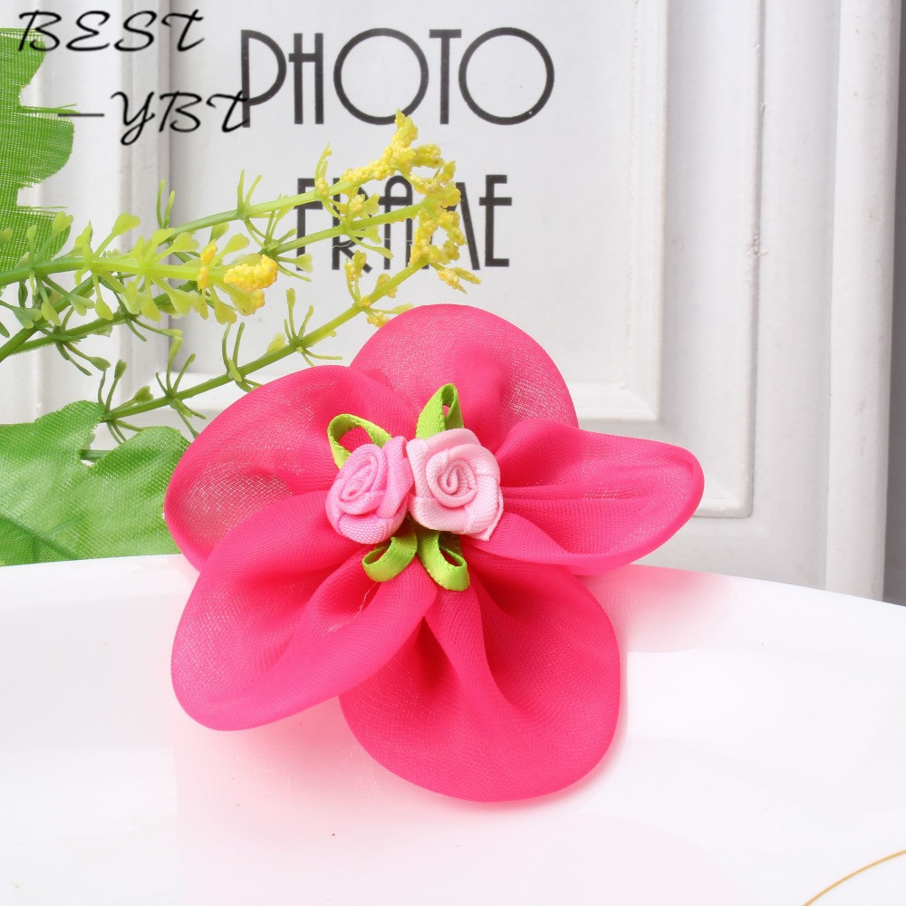 Cheap summer style chiffon ribbon flower hairpins kids accessories cheap summer style chiffon ribbon flower hairpins kids accessories gilrs hair accessories children accessories baby hair clip in hair accessories from izmirmasajfo