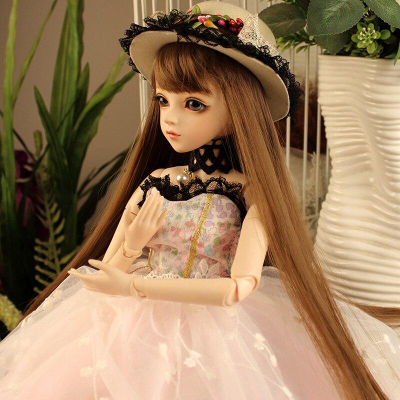 Fantasy BJD Doll Long Hair Beautiful Clothes 60cm Bjd Dolls Girl Birthday Gift Toys BBGirl SD Doll Baby Costume Makeup Dolls кукла bjd dc doll chateau 6 bjd sd doll zora soom volks