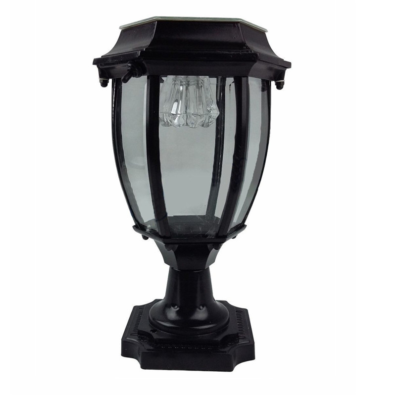 Bright Waterproof Aluminum LED Solar Light LED Garden Light Fence Gate Post Light Home Outdoor Lawn Powered Lamp