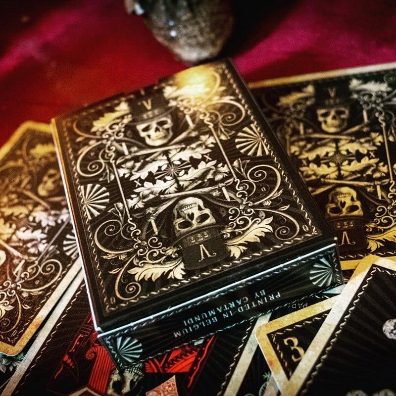 Cartes à jouer vaudou Poker taille Deck Cartamundi personnalisé édition limitée accessoires magiques scellés