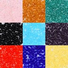 QIAOHE 1000 шт 2 мм#5301 двухконусные стеклянные бусины для рукоделия изготовления ювелирных изделий и выбора цветов