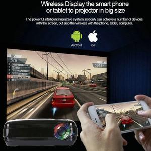 Image 5 - WZATCO CTL60 안드로이드 9.0 와이파이 5500 루멘 풀 HD 휴대용 TV LED 프로젝터 1080P 4K 비디오 게임 홈 시네마 용 HDMI LCD 비머