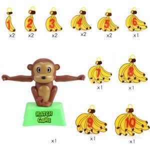 Image 5 - Montessori Math Balancing Scale Number Board Game Educational Toy Monkey Pig Dog Animal Figure Baby Preschool Math Toys
