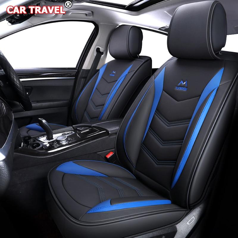 Housse de siège de voiture en cuir de luxe pour mercedes w210 w245 w202 ml w163 w124 GLK GLA GLC GLS CLK E B A classe Automobiles