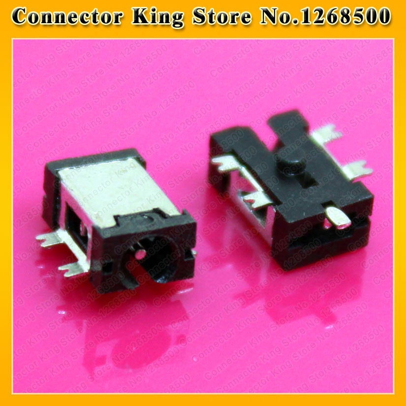 цены  5pcs--1000pcs Mini Power DC Jack for Tablet PC Netbook Charging port Connector 2.5X 0.7MM,DC-046