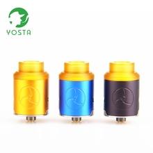 Yosta MVC RDA MTL 510 Thread Vape Tank DIY Mesh Coil Vaporizer Squonk Pin Electronic Cigarette Rebuildable Dripping Atomizer стоимость
