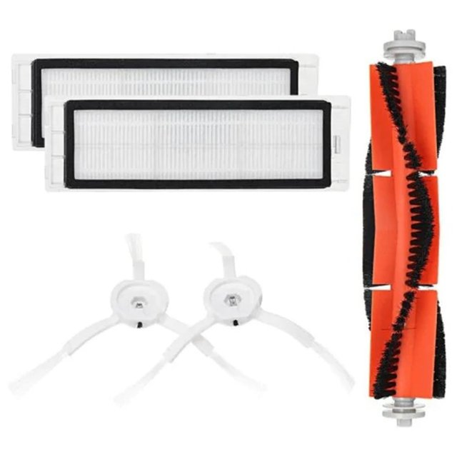 Main Brush Filters Side Brushes Accessories For XIAOMI MI Robot Vacuum Home Applicance Part Portable Size