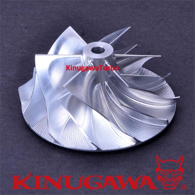Kinugawa Turbo Billet compresseur roue 64.41/87mm 6 + 6 pour Garrett GT4088 pour camion DAF 452231-0001