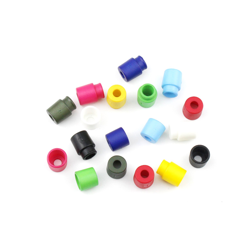 50~500pcs/Pack Colorful Plastic Buckles Breakaway Safety Pop Barrel Connector Clasp Necklace Paracord&Ribbon Lanyards(China)