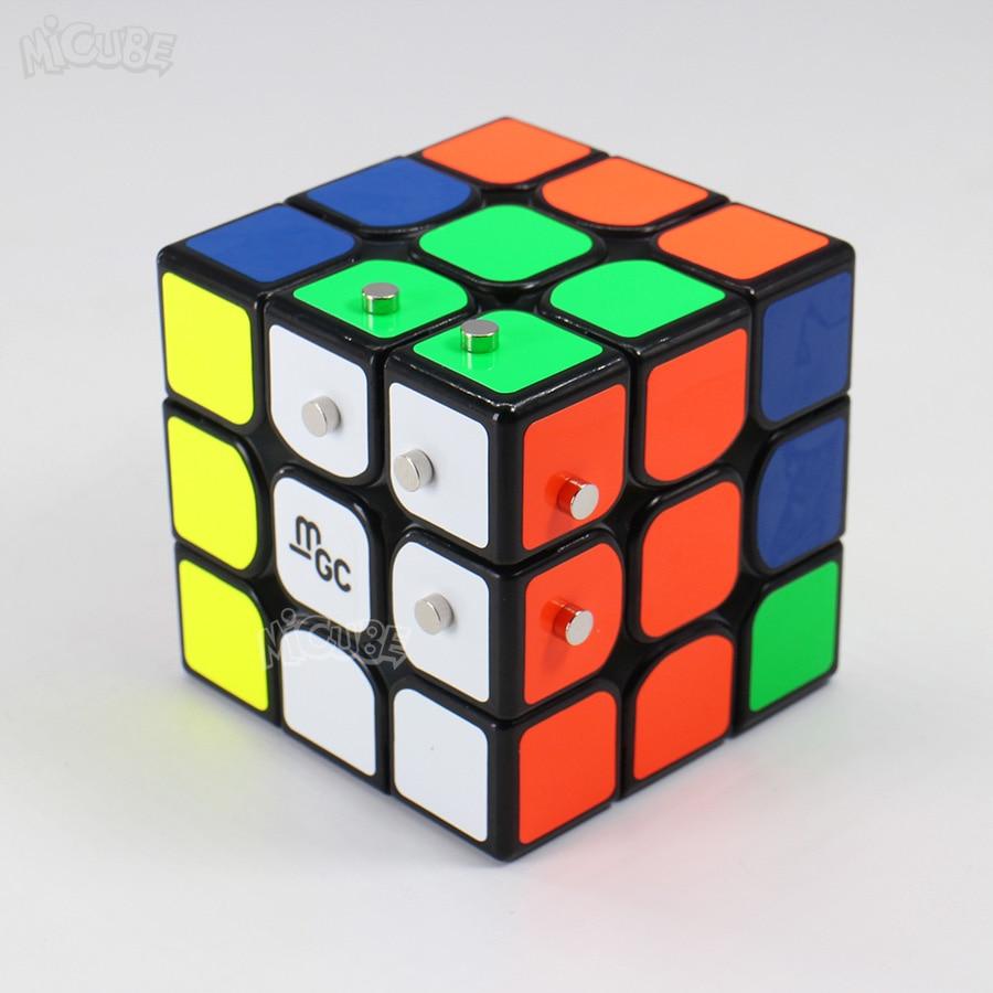 Yongjun MGC 3x3x3 MGC V2 V1 Cubo Magnético Neo Cubo Mágico Velocidade 3x3 Puzzle jogo Cubo Magico WCA Campeonato Por Ímãs Brinquedos Do Menino