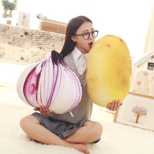 Vegetables Plush Pillow 1