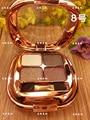 Perfect 4 cores paleta da sombra de olho de diamante para enfrentou partículas de sombra de alta qualidade glitter com a escova da sombra de olho maquiagem