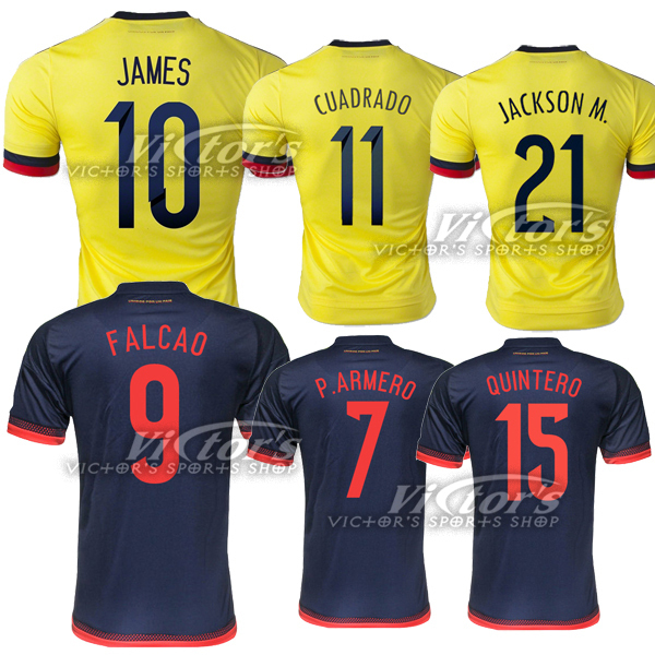 2015 16 Colombia jersey 2015 2016 Colombia jersey home