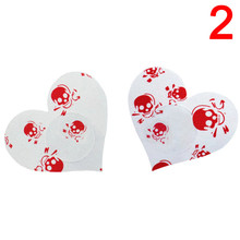 2 Pairs Cat & Skull Sexy Invisible Nipple Sheath