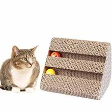 Yooap New best selling pet toy big cat climbing frame capture corrugated plate grinding claw