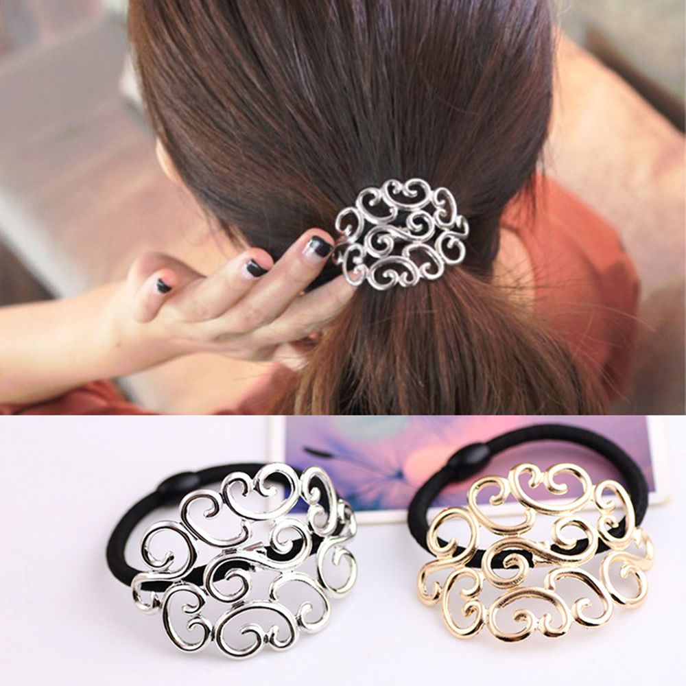 1 Pc Lady Girl Fashion Women Elastic Hair Ties Band Ropes Ring Scrunchie Ponytail Holder Hair Accessories