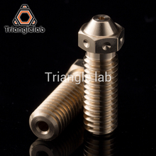 trianglelab Top quality V6 volcano Nozzle for 3D printers hotend 5pcs/lot  volcano upgrade kit for E3D volcano hotend