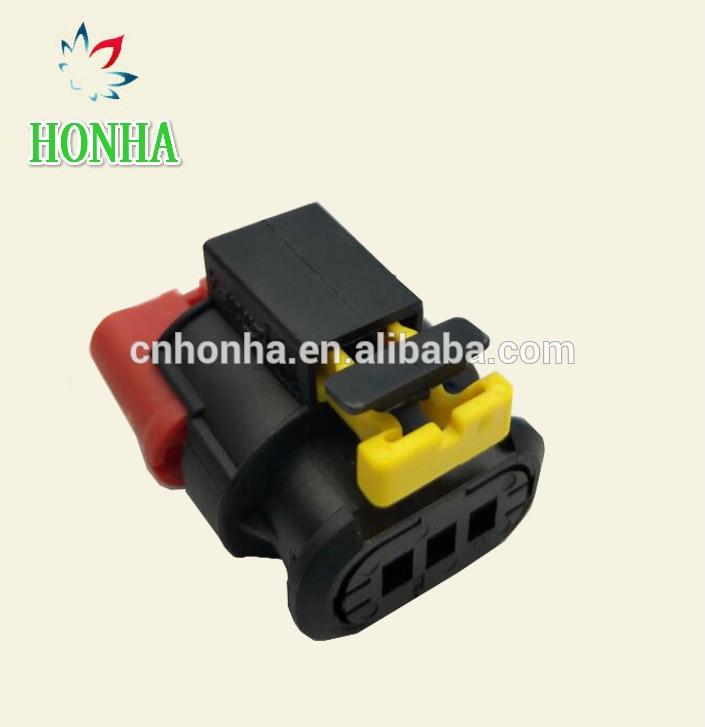 3pin tyco auto wire harness Sealed Sensor connector plug 284425-1 284426-1