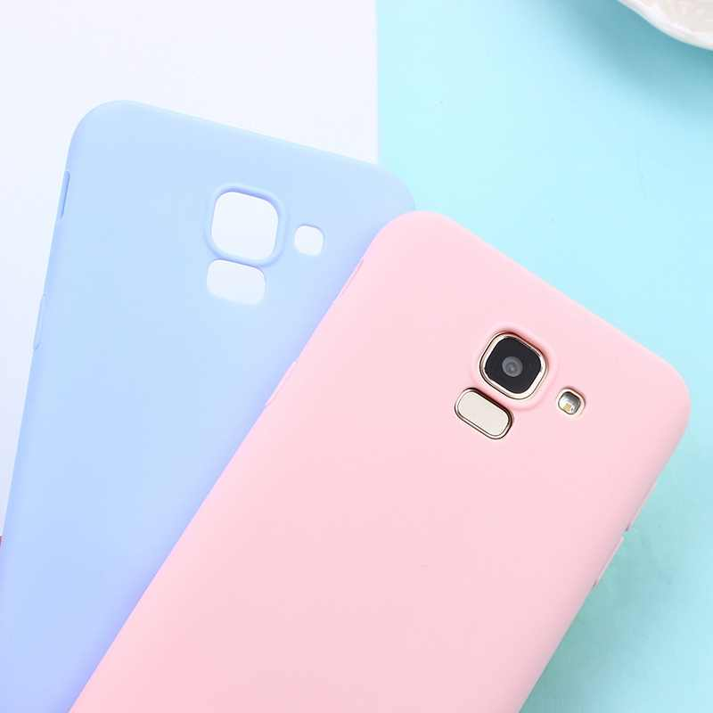 Matte Candy TPU Case For Samsung Galaxy S10 Plus S10e S8 S9 Note 9 8 5 A7 2018 M10 M20 S7edge J3 J5 J7 2016 2017 J4+ J6 EU A6 A8