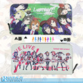 Hot sale style LOVELIVE student exchange design practical gift long zip wallet