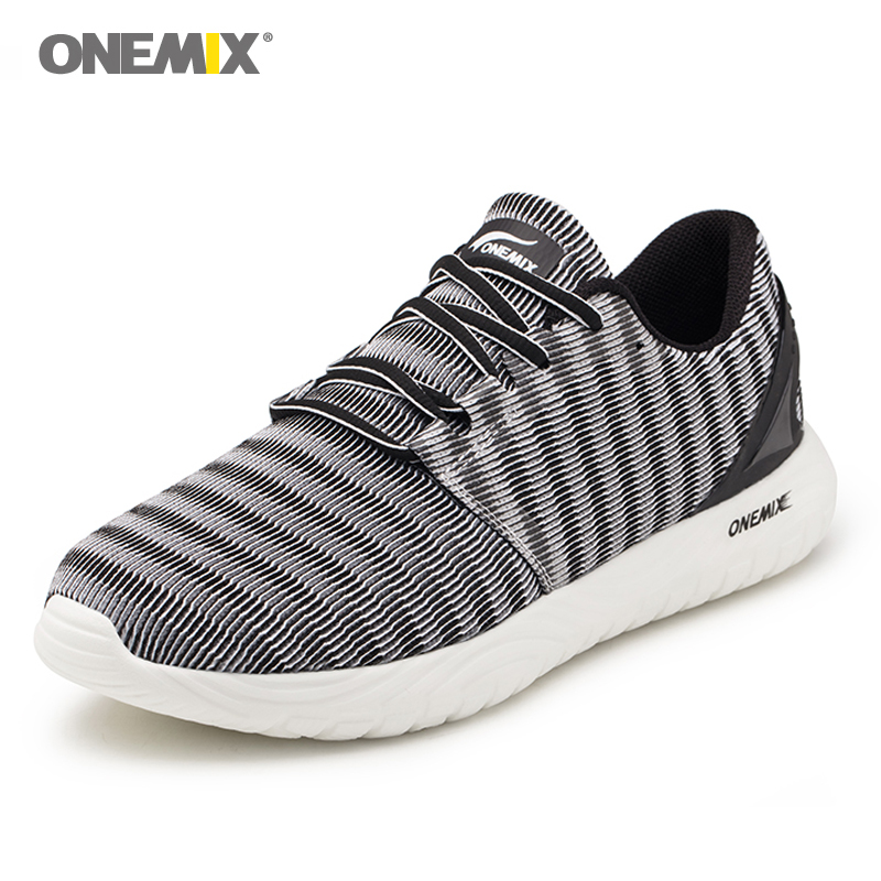 New Onemix Running Shoes for men Breathable Mesh Sports Sneaker Lightweight Cushioning DMX Sneakers for Outdoor Walking Shoes недорго, оригинальная цена