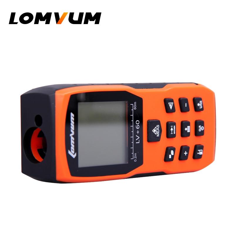 Dalmierze laserowe LOMVUM Pomarańczowy miernik odległości Ręczny - Przyrządy pomiarowe - Zdjęcie 6