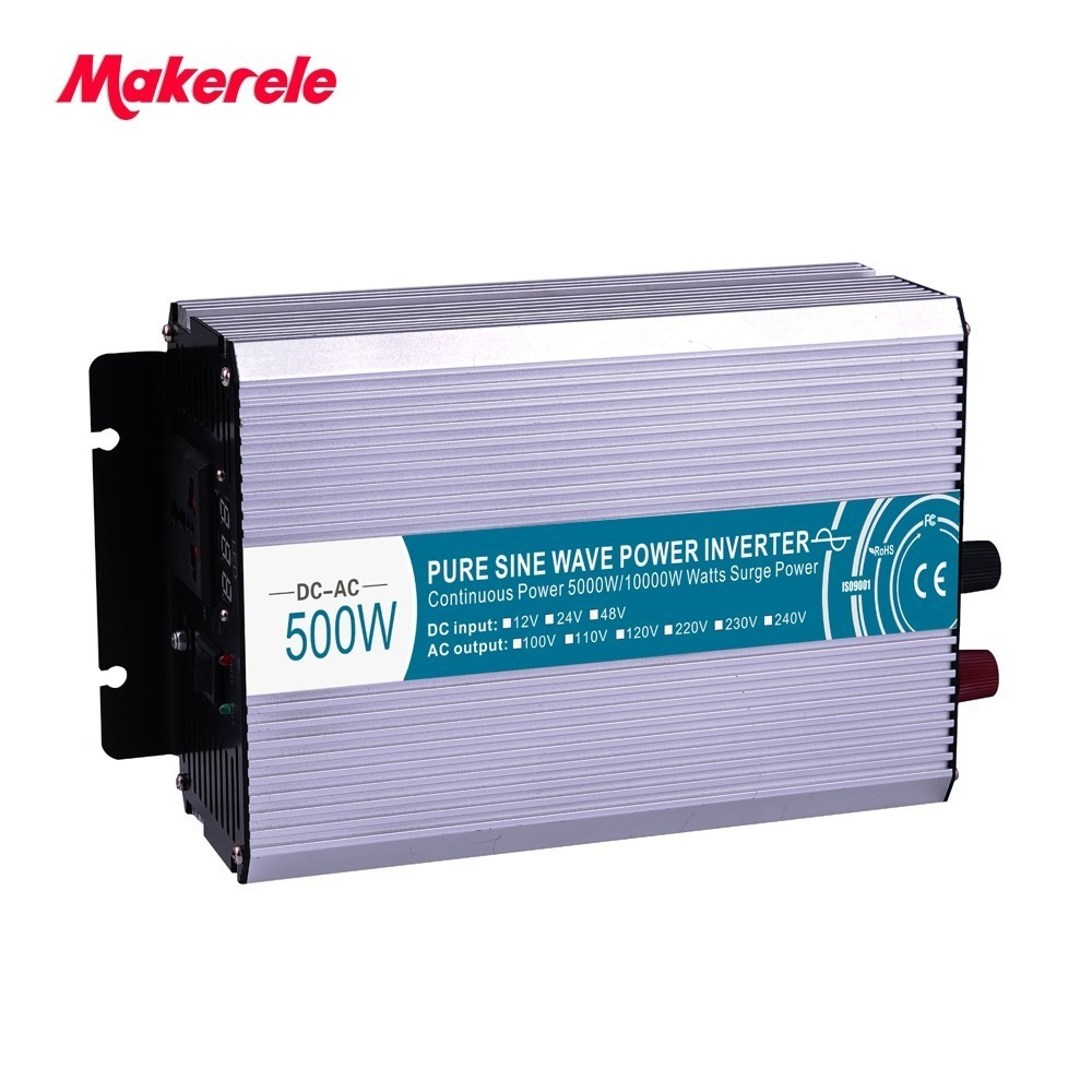 цена на MKP500-241B high quality 500W pure sine wave power inverter 500w 24vdc to 110vac home backup power backup power for home use
