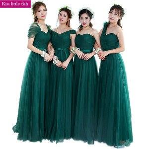 Image 1 - KSL133 จัดส่งฟรี Emerald ใหม่ยาวชุดเจ้าสาวงานแต่งงานชุด