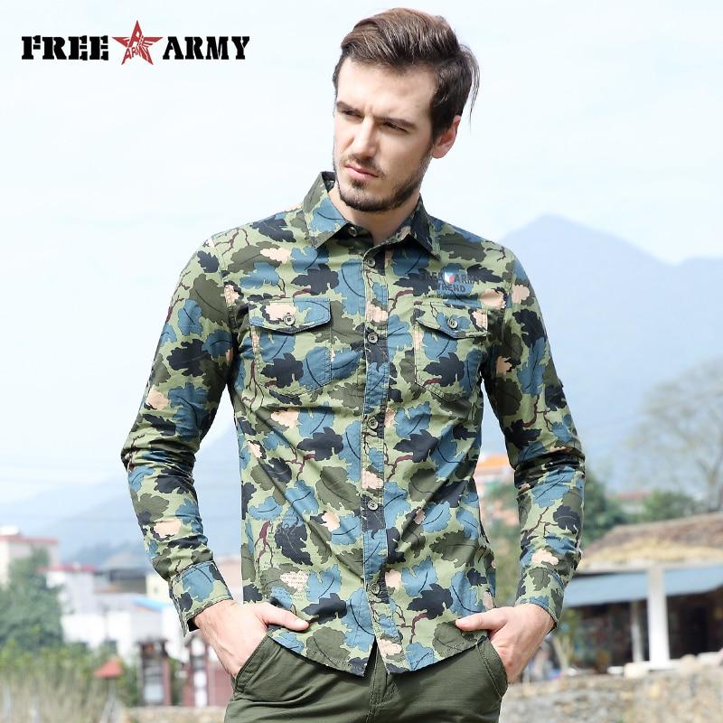 화려한 봄 셔츠 패션 캐쥬얼 브랜드 남성 의류 긴 - 남성 의류 - 사진 3