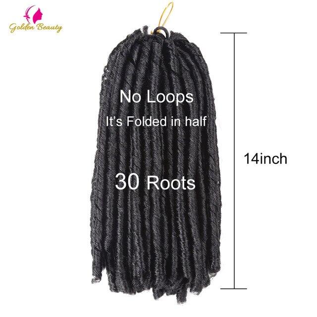Online Shop Golden Beauty 12inch Crochet Hair Extensions Adm