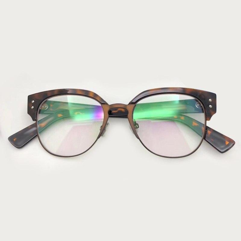2 1 Lunettes Verpackung 3 no 2018 Rahmen Mit Oculos Eye No Frames Vintage Cat Mode no Transparente 4 Homme Gläser no Optische Weibliche z6zFaUq