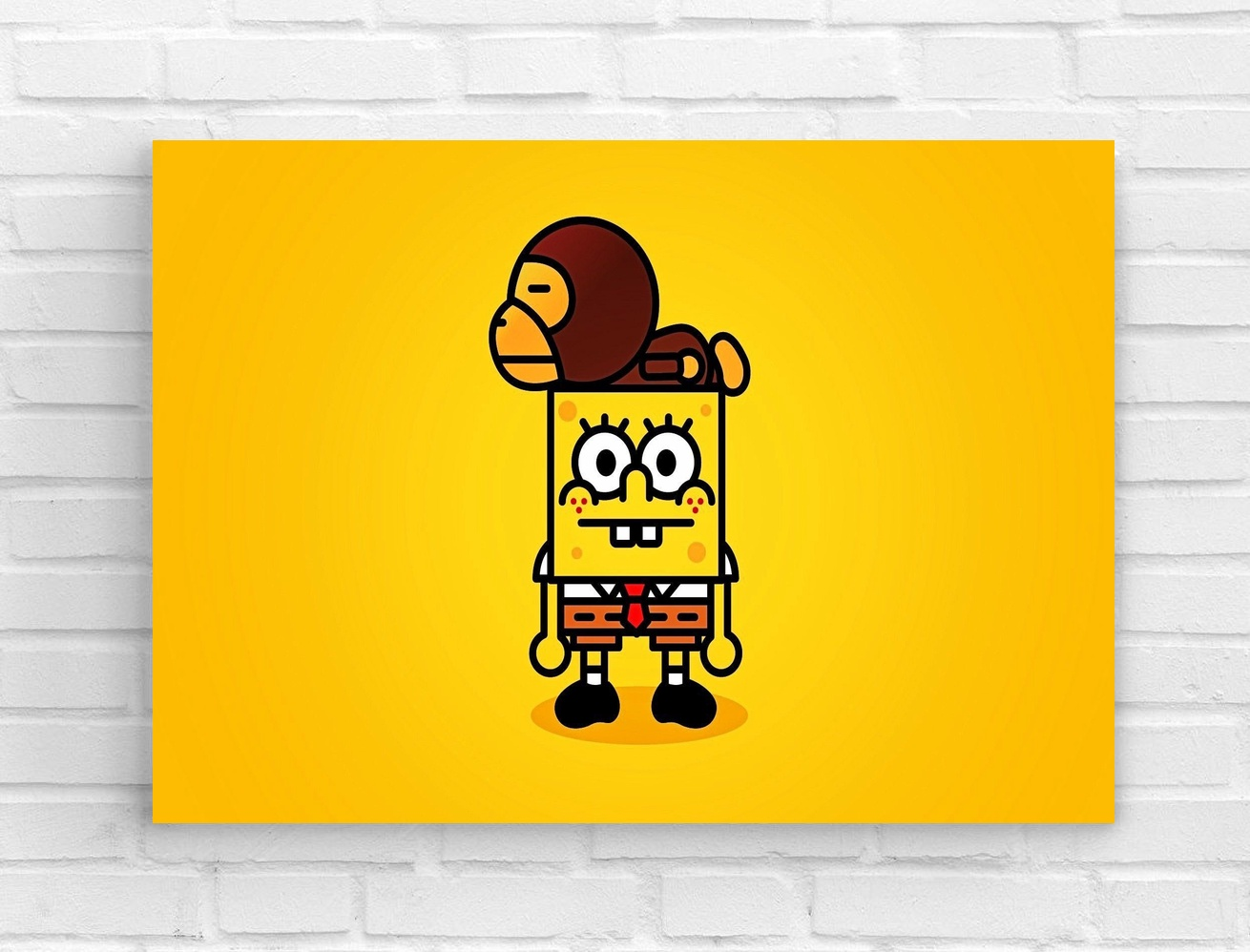 Anime SpongeBob SquarePants Canvas Wall Art Posters Home Decor-in ...