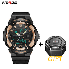 WEIDE Military Watches Men Sports Watch Quartz Clock Sport Digital Wristwatch  Mens Army Hour Waterproof Eloj Hombre