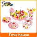 DIY Fruitcake Birthday Cake Children Play House Toys Kitchen Play house toys children's educational toys gifts