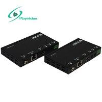 Playvision HDBaseT HDMI Extender более Cat5e/Cat6 70 м поддержка 3d 4k 1080P ИК