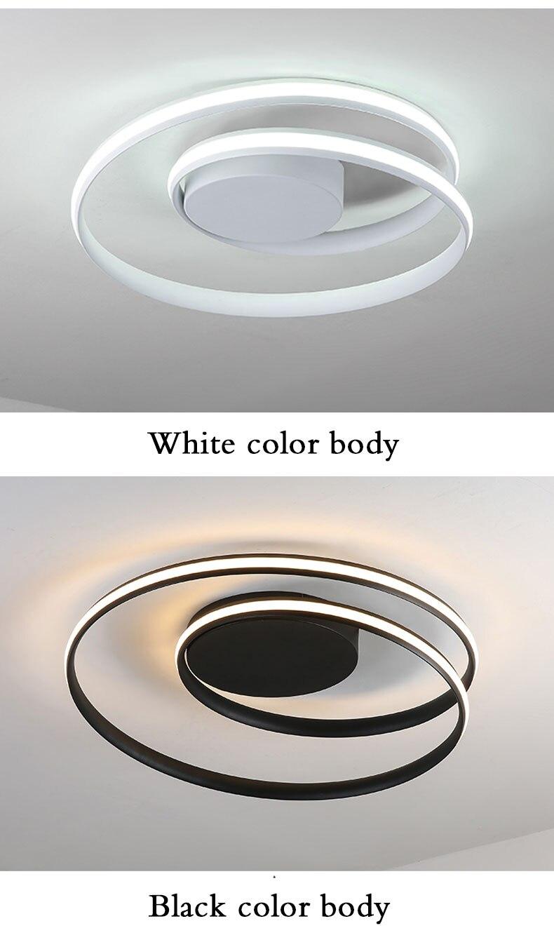 HTB1bRtTajzuK1Rjy0Fpq6yEpFXa0 APP control Simple Acrylic Modern Ceiling Lights For Home Living Room Bedroom Kitchen Ceiling Lamp Home Lighting Fixtures