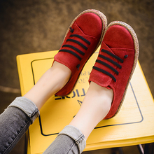 Women Flats Shoes Loafers Round Toe