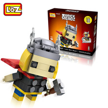 LOZ Thor blocks ego nero legoe star wars duplo lepin brick minifigures ninjago guns duplo farm castle super heroes playmobill