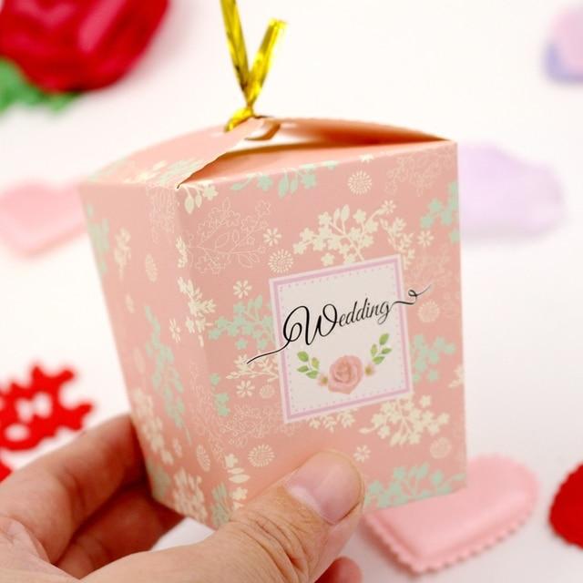 698 20 Pièces Livraison Gratuite Sucre Boîte Cadeau Mariage Bonbons Enfants Cadeaux De Mariage Pour Les Invités Bonbons Chinois Cadeau Boîte à