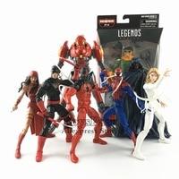 Marvel Legends 2018 SP//dr BAF Wave Build Action Figure 6 Doc Ock Scarlet Spider Man House Of M Elektra Daredevil Cloak Dagger