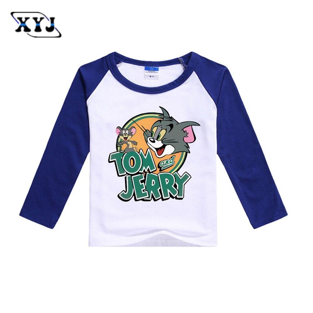 Tom and Jerry Maglietta a maniche corta per Ragazzi Tom e Jerry