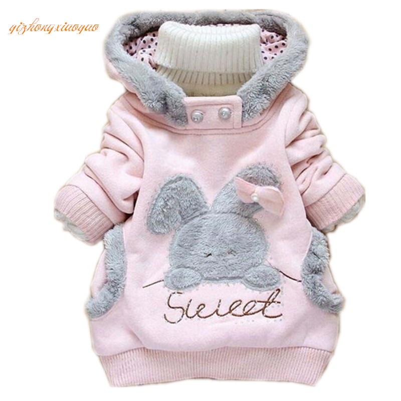 2016 Mazumtirdzniecības bērnu apģērbs Cartoon Rabbit Fleece - Bērnu apģērbi