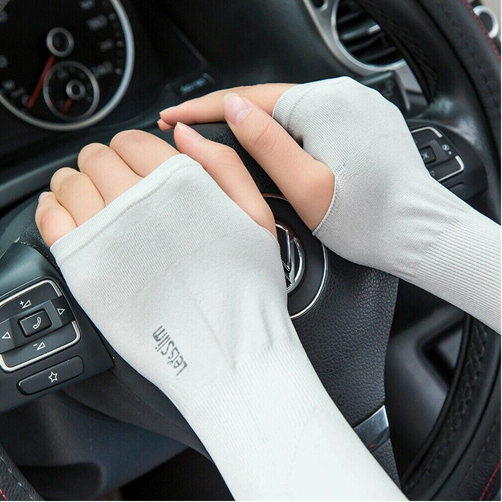 2019 neueste Heiße 1 Paar Outdoor Cooling Arm Sleeves für Radfahren Basketball Fußball Laufen Sport