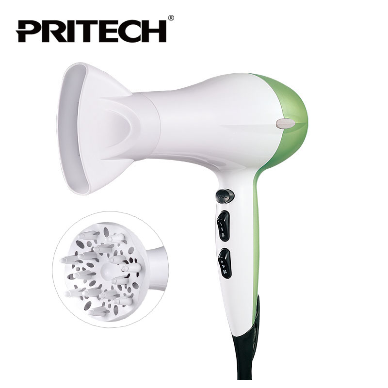 PRITECH Brand Perfect Colorful Big Power 2000W  Electric Hair Dryer Hair Care Hair Styling Tools For Family Or Salon Use недорого