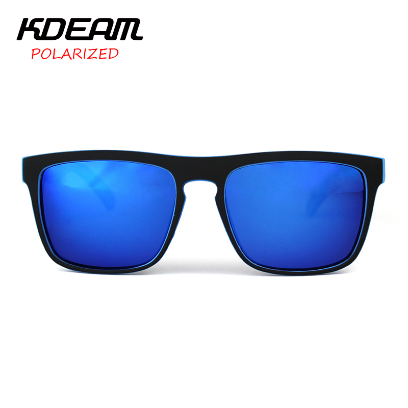809b80c62bb9 KDEAM Sport Sunglasses Men Metal Hinges Brand Designer Women Polaroid lens  Square Polarized Sun Glasses With Original case KD156-in Sunglasses from  Apparel ...