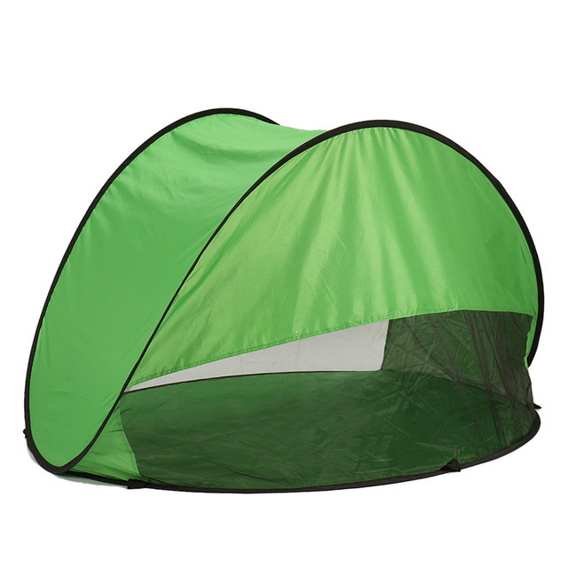 Newest Large Green Beach Tent with UV Protection Fully Automatic Protection Of C&ing Beach Sunshade Tent  sc 1 st  AliExpress.com & Newest Large Green Beach Tent with UV Protection Fully Automatic ...