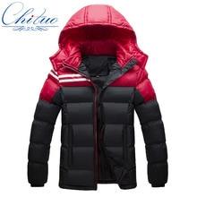 2016 autumn and winter jacket male plus velvet thick warm coat cotton men s fashion casual