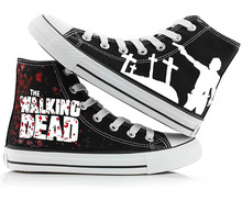 Walking Dead Fashion Canvas Shoes Unisex