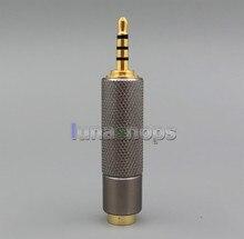 Trrs 2.5 мм сбалансированный мужской чтобы 3pin 3.5 мм женский звуковой адаптер для iriver ak240 ak240ss ak380 dp-x1 cayin n5 и т. д. ln005522